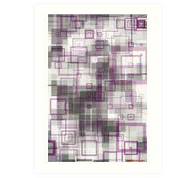 geometric abstract no.8 Art Print