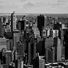 New York Skyline by Michael Grohs