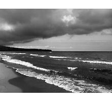 Lake Superior storm clouds Photographic Print