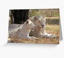 Mum & Dad together Greeting Card