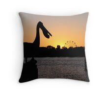 Mandurah Sunset Throw Pillow