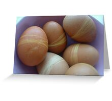 easter eggs Greeting Card
