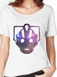 Cyber Galaxy - Doctor Who Cyberman Women's Relaxed Fit T-Shirt