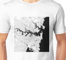 Map of Sydney Unisex T-Shirt