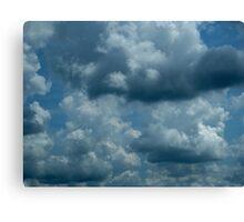 Cloud Shapes Canvas Print