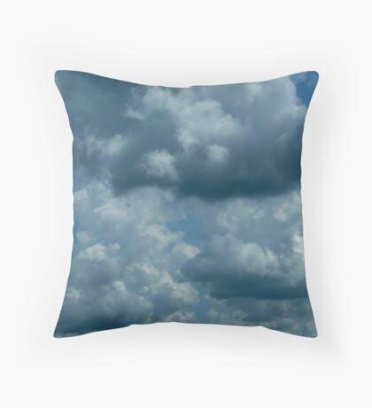 Cloud Shapes Throw Pillow