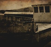 The Grounded Barge (best viewed Large) by Jen Waltmon