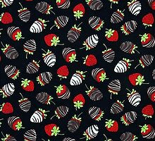 Chocolate Dipped Stawberries Pattern by HavenDesign
