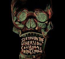 Reflektor skull by samsamis