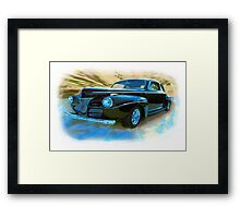 In The Days Of Great Style Framed Print