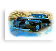In The Days Of Great Style Canvas Print