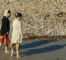 Impressions at the beach - VIII by George Parapadakis (monocotylidono)
