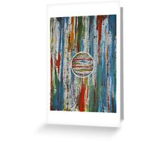 Primary Abstraction Greeting Card