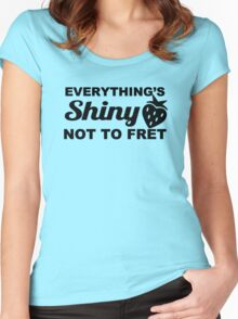 Everything's Shiny, Cap'n! Women's Fitted Scoop T-Shirt
