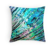 Mother Of All Pearls Throw Pillow