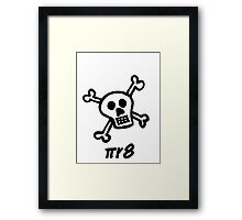 pirate for nerds Framed Print