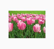 Pretty Pink Tulips digitally enhanced photographic art Unisex T-Shirt