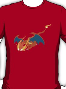 pokemon charizard dragon anime shirt T-Shirt