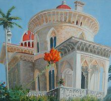 Monserrate Palace at Sintra, Portugal by Erika Ribeiro