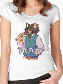 D O G F I G H T Women's Fitted Scoop T-Shirt