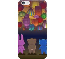 Lantern Festival Friends iPhone Case/Skin