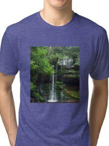 Russell Falls - Mt Field National Park Tri-blend T-Shirt