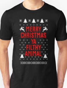 Merry Christmas Ya Filthy Animal T-Shirt