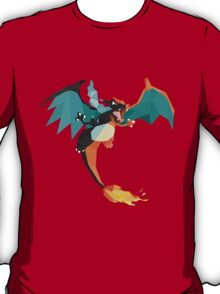 pokemon mega charizard dragon anime shirt T-Shirt