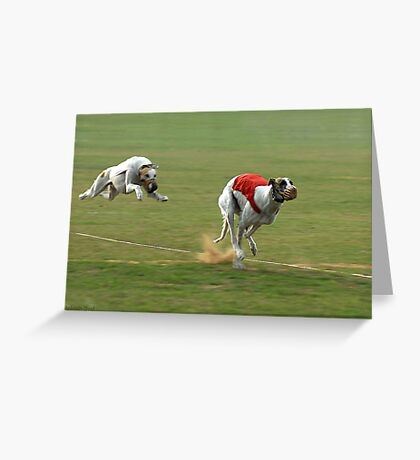LEAPING AHEAD Greeting Card