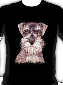 Miniature German Schnauzer dog T-Shirt