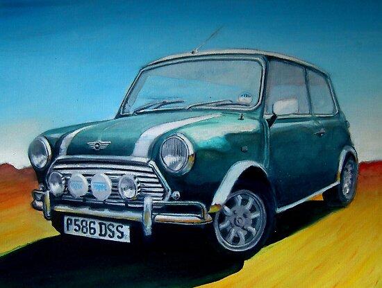 Mini Cooper  by Matthew Scotland