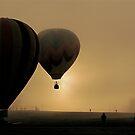 Misty Dawn Flight by Jeannette Sheehy