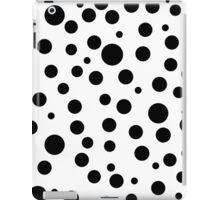 Small large polka dots. iPad Case/Skin