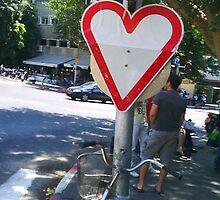 Roadlove, Tel Aviv, 2009 by Dana L