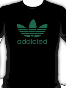 Addicted Adidas Weed T-Shirt