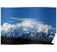 Attitudes of the Mountain ~Mount McKinley/Denali ~ ALASKA Poster