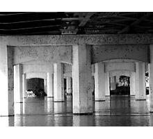 beneath the bridge Photographic Print