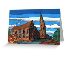 181 - UNITED REFORMED CHURCH, BLYTH (GOUACHE) Greeting Card