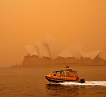 Sydney Dust Storm 01 by Barry Culling