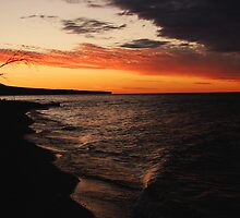 Lake Superior sunset by jrier