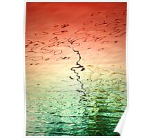 Colours of Water 3 Poster