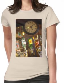 Passing Time Womens Fitted T-Shirt