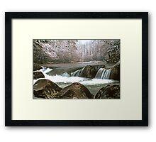 GREENBRIER, WINTER Framed Print