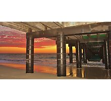 SUNSET AT COOGEE Photographic Print