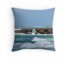 Doorway Rock - Robe S.A. Throw Pillow