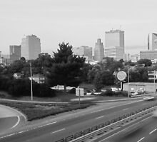 Winston Salem in B&W by clmustin