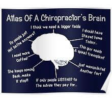 Funny Chiropractor's Thoughts Poster