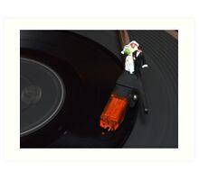 Bride & Groom First Dance Art Print