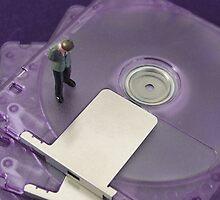 Mini Disc Mini Man by Mark Wilson