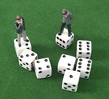 Poker Dice by Mark Wilson